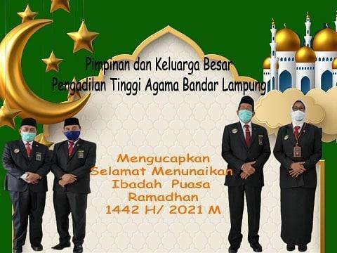 Selamat Menunaikan Ibadah Puasa Ramadhan 1442 H.